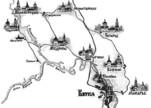 Схема Великорецкого крестного хода