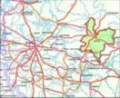 Вятка на карте Центральной России